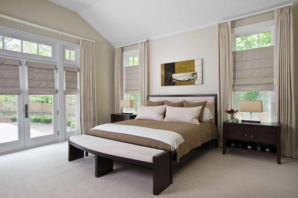 Mikes Furniture Chicago for a Contemporary Bedroom with a Chicago Interiors and Bedroom by Fredman Design Group