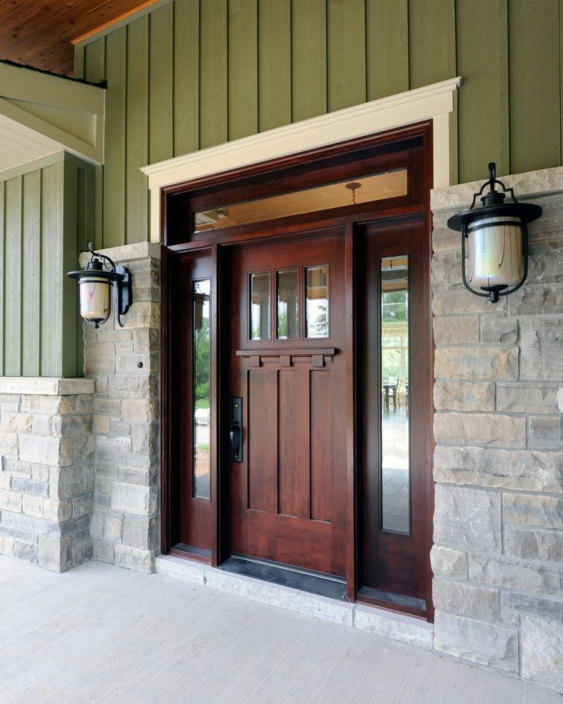 Mill Valley Golf Course for a Craftsman Entry with a Front Entrance and Parkway Project by Chuck Mills Design