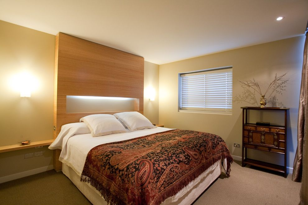 Millbrook Apartments for a Contemporary Bedroom with a Prime Spanish Oak 14 Cut Veneer Board and Millbrook Apartments by Cutting Edge Kitchens