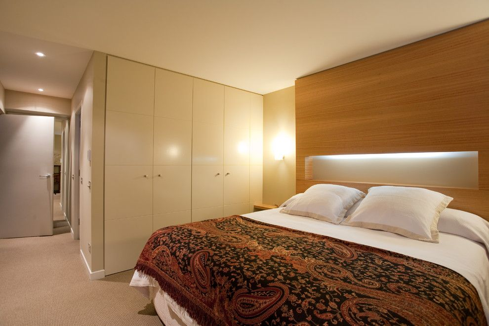 Millbrook Apartments for a Contemporary Bedroom with a Wardrobe Doors Finish in a Paint Lacquer and Millbrook Apartments by Cutting Edge Kitchens