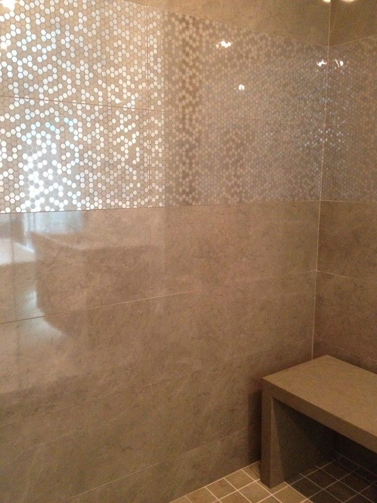 Millington Nj for a Contemporary Bathroom with a Marazzi and Millington, Nj by Benjamin Cruz Designs