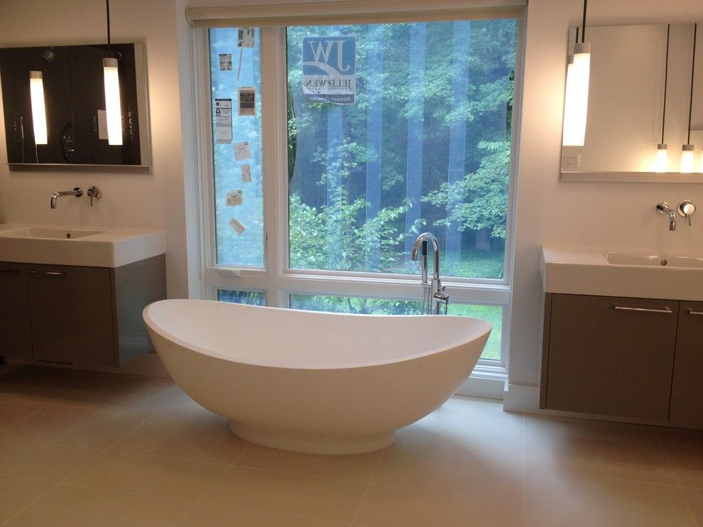 Millington Nj for a Contemporary Bathroom with a Raspel and Millington, Nj by Benjamin Cruz Designs