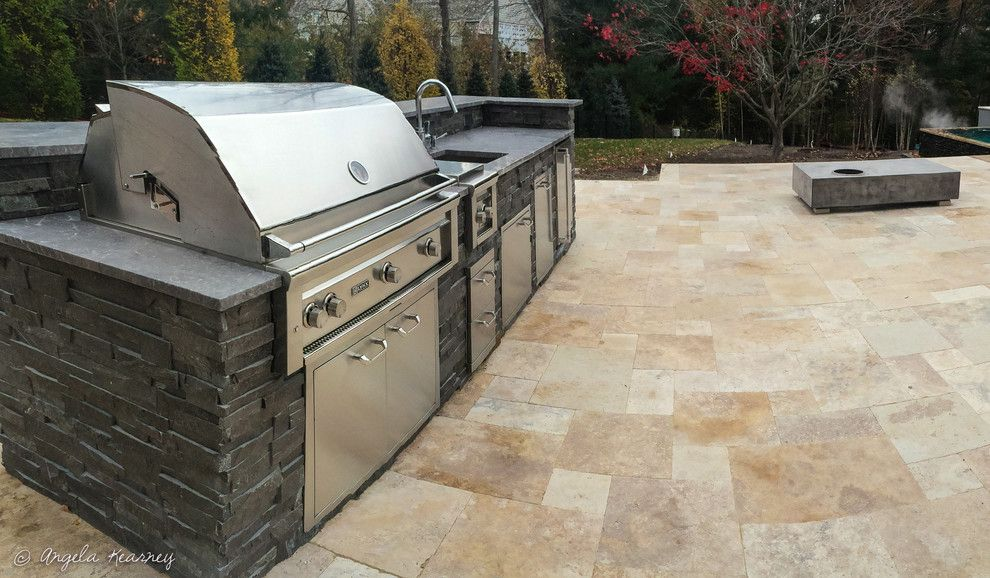 Minglewood for a Contemporary Patio with a Beautiful Pools and Sanderson Knoll by Minglewood