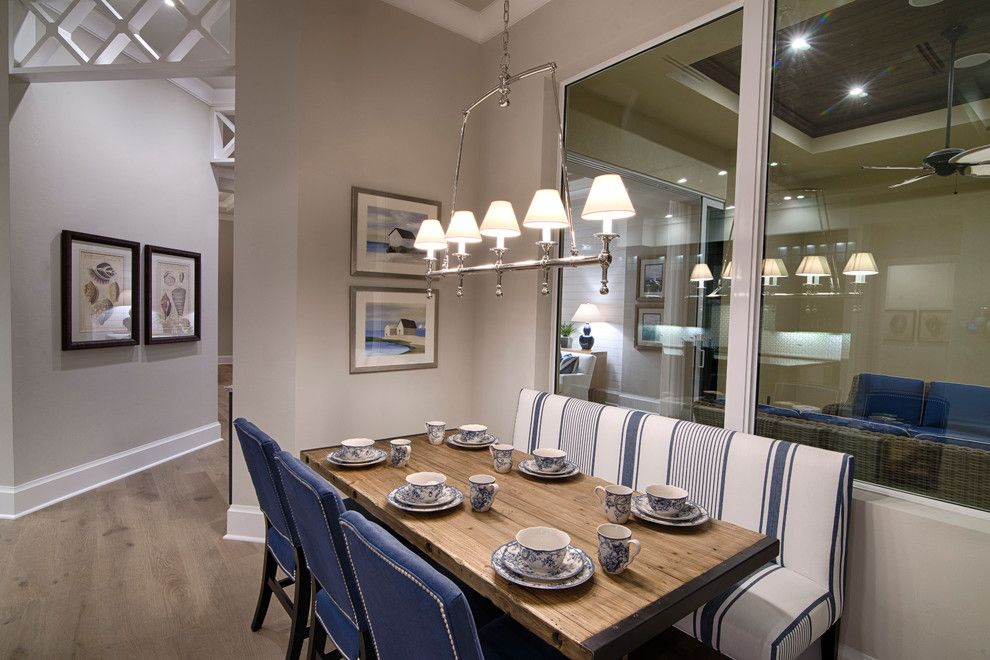Miromar for a Beach Style Spaces with a Florida Waterfront Home and