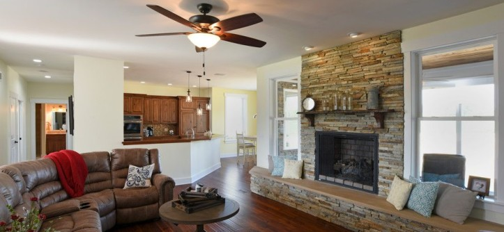 "m&m Construction for a  Spaces with a  and M/M Construction ""The Weston"" - 2016 Homearama Home #10 by Dayton Homearama"