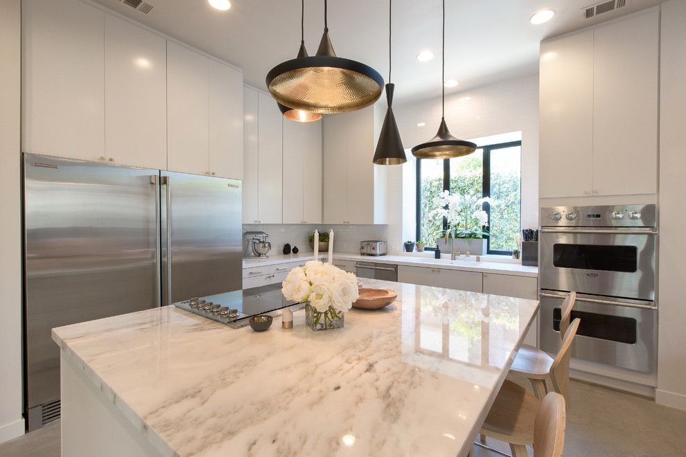 Modesto Steel for a Contemporary Kitchen with a Contemporary and Kitchencrate River Nine Drive, Modesto, Ca by Kitchencrate & Bathcrate of the Central Valley