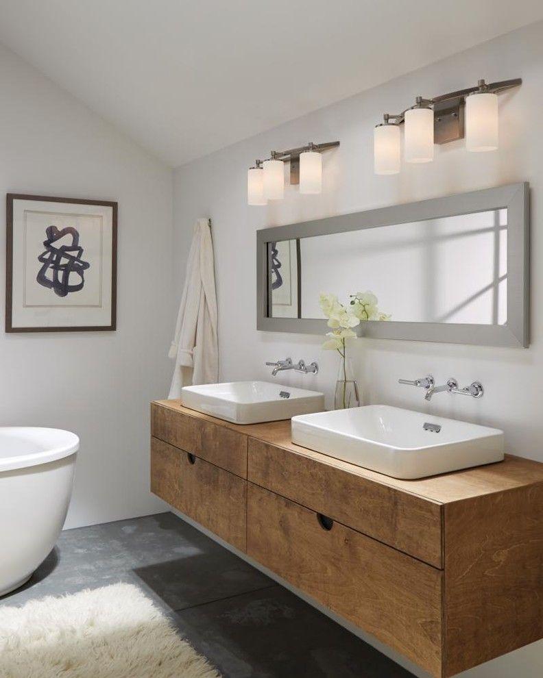Moen Faucet Warranty for a Contemporary Bathroom with a Contemporary and Bathrooms by Sea Gull Lighting