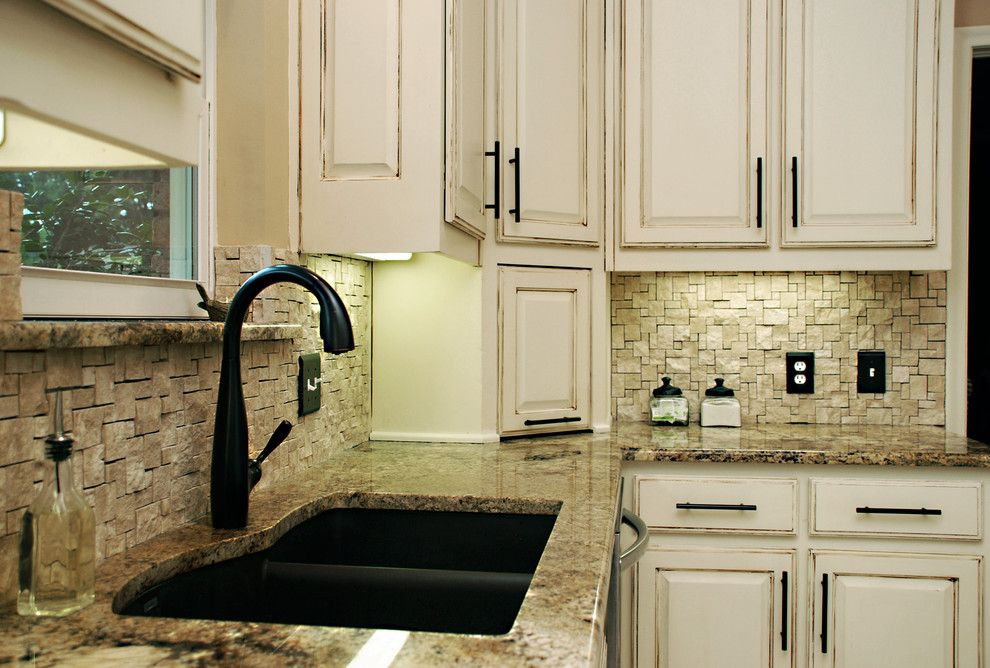 Moen Faucet Warranty for a Traditional Kitchen with a Traditional and Richardson Kitchen by Greenbrook Homes