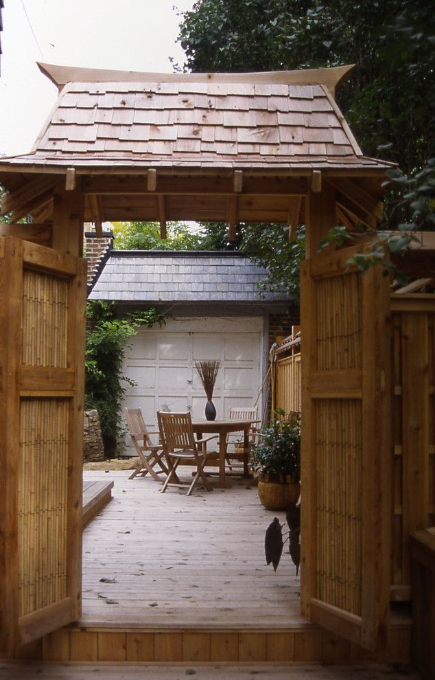 Montreal Botanical Garden for a Asian Landscape with a Hampstead and Westmount Asian Garden by Little Miracles Designs