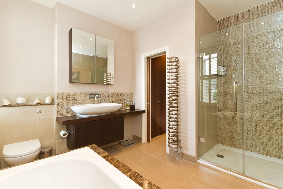 Mosart for a Contemporary Bathroom with a Bathroom Doors and Contemporary Bathroom by Chrissnookphotography.co.uk