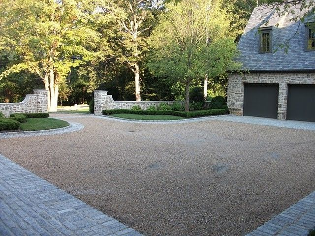 Mosey for a Traditional Landscape with a Traditional and Harris Trail English Estate by Joseph Mosey Architecture, Inc.