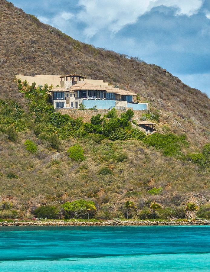 Mosey for a Tropical Exterior with a Exterior Terraces and Virgin Islands Villa by Joseph Mosey Architecture, Inc.