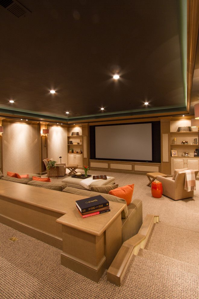 Movies Bethesda for a Contemporary Home Theater with a Home Theater and Bringing the Movies Home by Bethesda Systems