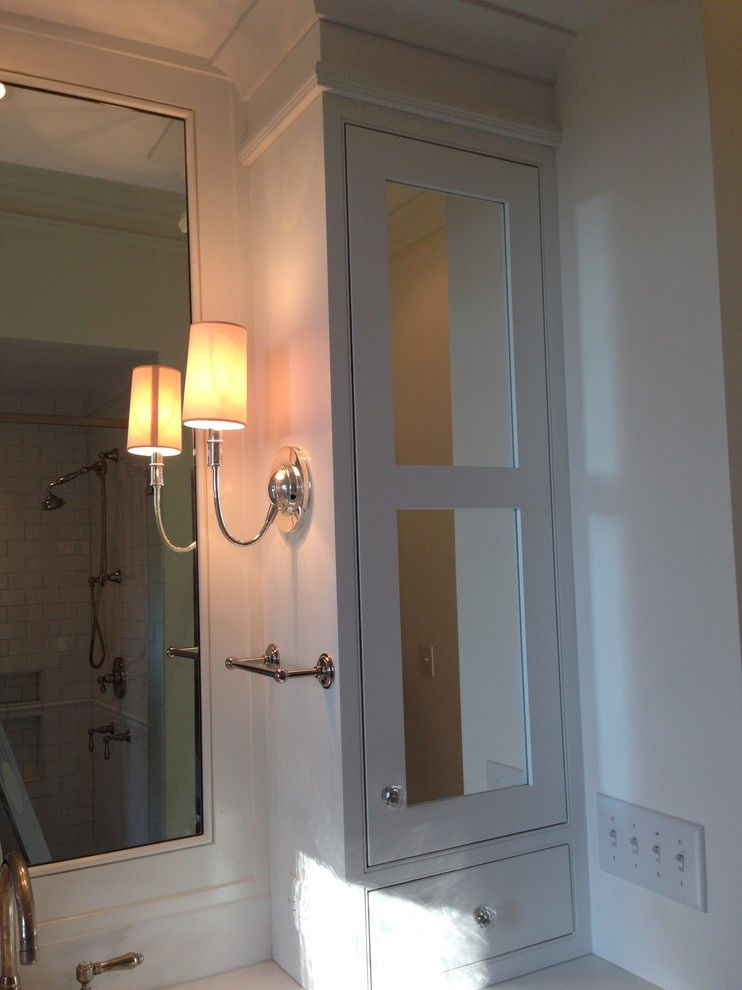 Mt Bachelor Village for a Transitional Bathroom with a Inset Cabinets and the Old Village in Mt. Pleasant Sc by Regina Steverson...space Planning..kitchen Design