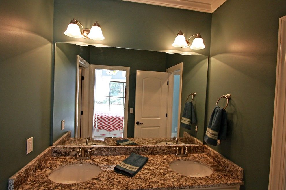 Mungo Homes Columbia Sc for a Traditional Bathroom with a Bonnie Younginer and Capogrossi Parade of Homes 2013 at Woodcreek Farms Columbia Sc by the Lite House