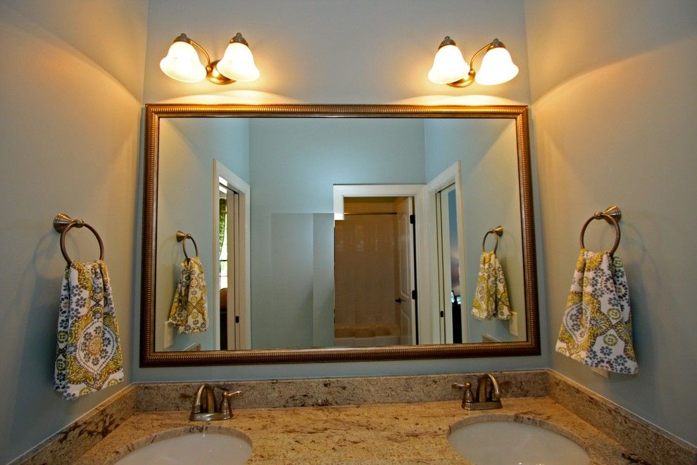 Mungo Homes Columbia Sc for a Traditional Bathroom with a Lighting and Capogrossi Parade of Homes 2013 at Woodcreek Farms Columbia Sc by the Lite House