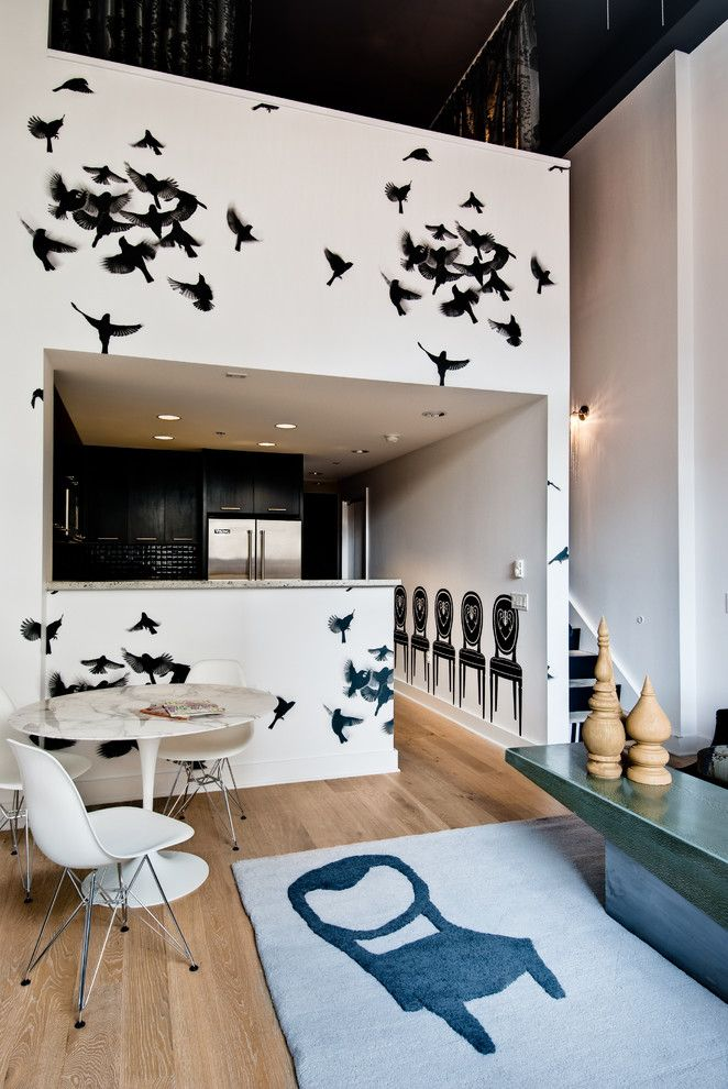 Must See in San Francisco for a Contemporary Kitchen with a Flexible Seatings and Gioi Tran by Applegate Tran Interiors