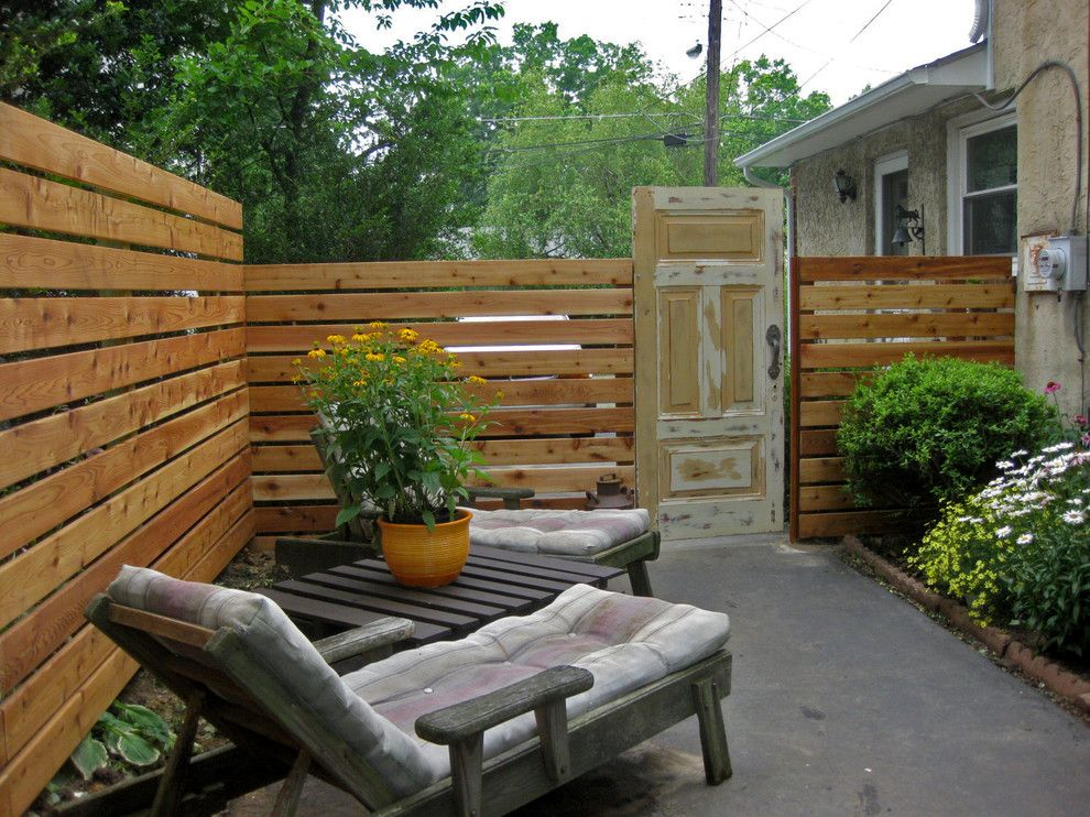 My Gym Encino for a Eclectic Patio with a Fence and Elkins Park Resident by Nattapon Landscape Design