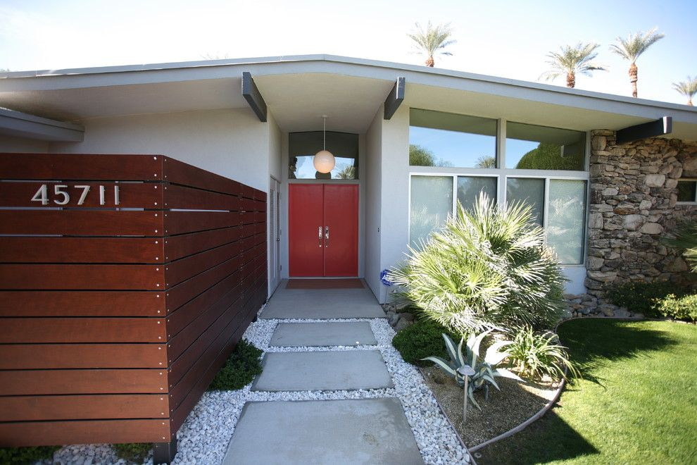 My Gym Encino for a Modern Entry with a Rafters and Palm Springs by Natalie Disalvo