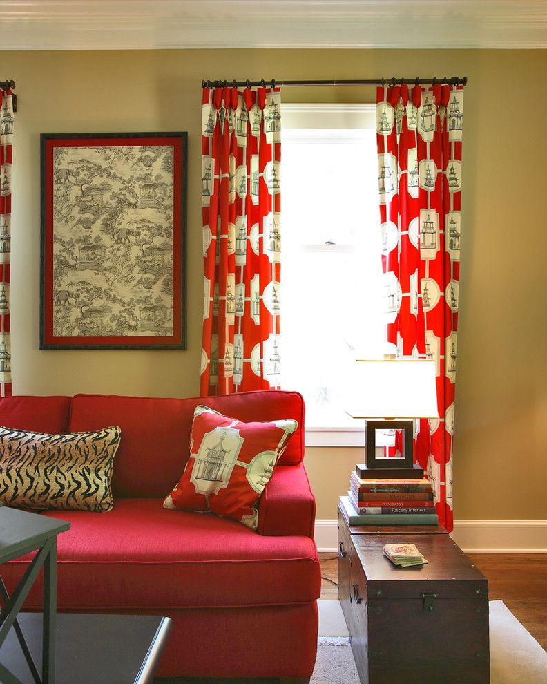 Mythic Paint for a Asian Living Room with a Global Chic and Global Chic by Olga Adler