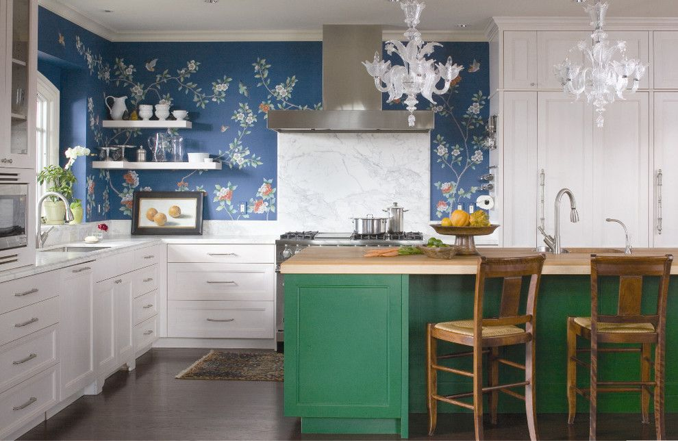 Nanz for a Traditional Kitchen with a Breakfast Bar and 2010 Colorado Homes & Lifestyles