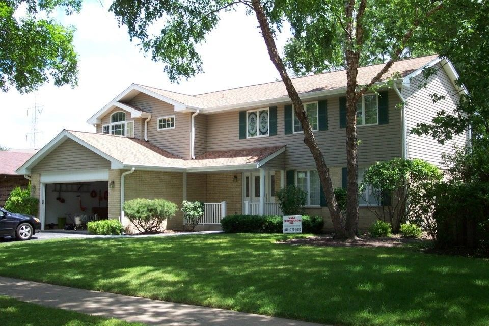 Ncarb for a Contemporary Exterior with a Beige House Color and Sullivan Residence  Arlington Heights, Il by Randy B. Pruyn, Ncarb, Ala