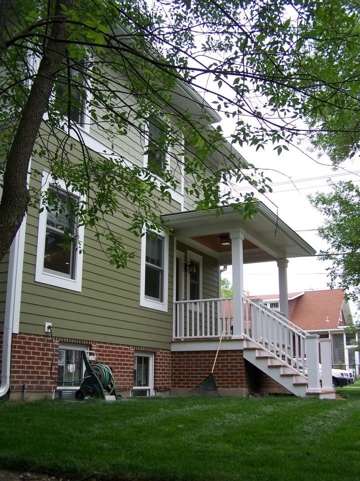 Ncarb for a Craftsman Exterior with a White Trim and Schaefer Residence  Lombard, Il by Randy B. Pruyn, Ncarb, Ala