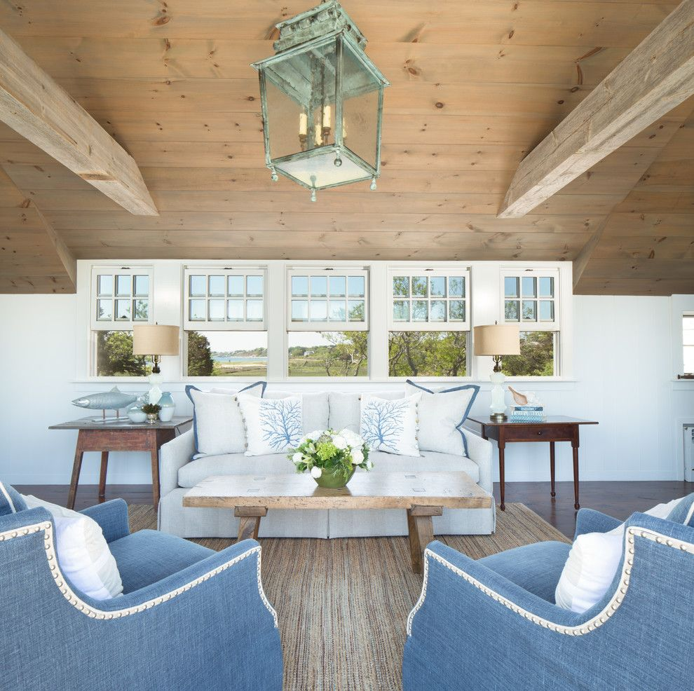 Ne Furniture Mart for a Beach Style Living Room with a Fish and #Interiors by Kyle J Caldwell Photography