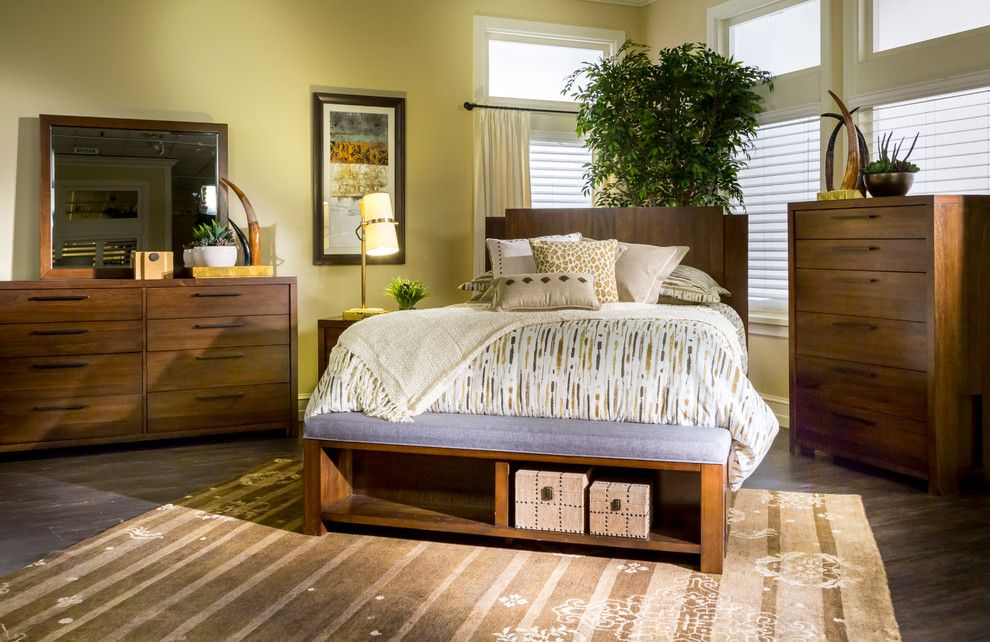 Nebraska Furniture Mart Kansas for a Midcentury Bedroom with a Bedroom Furniture and the Spring 2015 Catalog by Nebraska Furniture Mart - Omaha