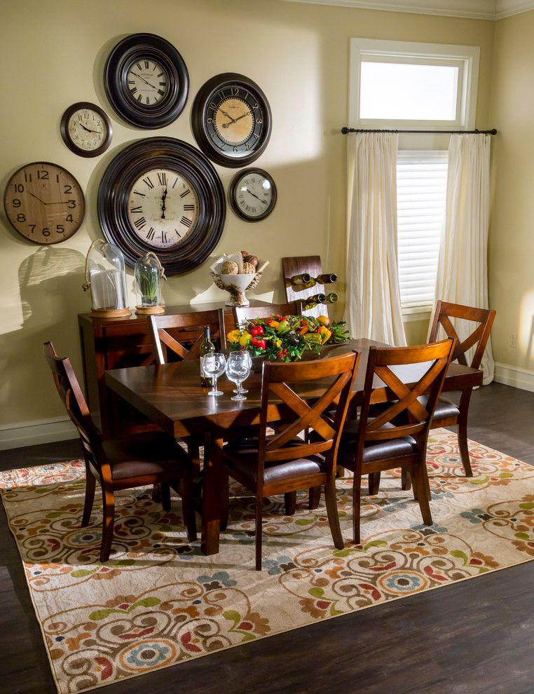 Nebraska Furniture Mart Kansas for a Transitional Dining Room with a Bedroom Furniture and the Spring 2015 Catalog by Nebraska Furniture Mart - Omaha