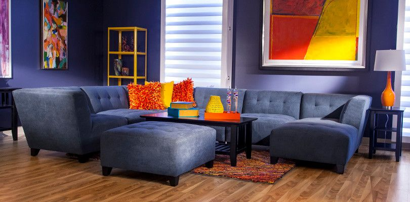 Nebraska Furniture Mart Omaha Ne for a Modern Spaces with a Leather Sofa and Fall Furnishings Catalog by Nebraska Furniture Mart   Omaha