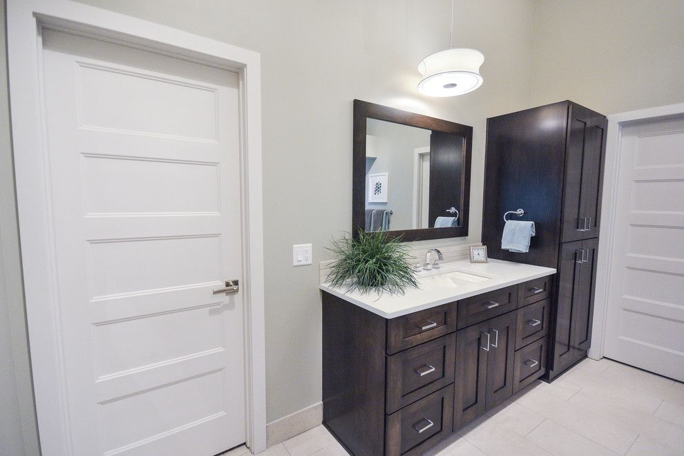 Nebraska Furniture Mart Omaha Nebraska for a Contemporary Bathroom with a Furniture and Harrison St. Residence by Artistico