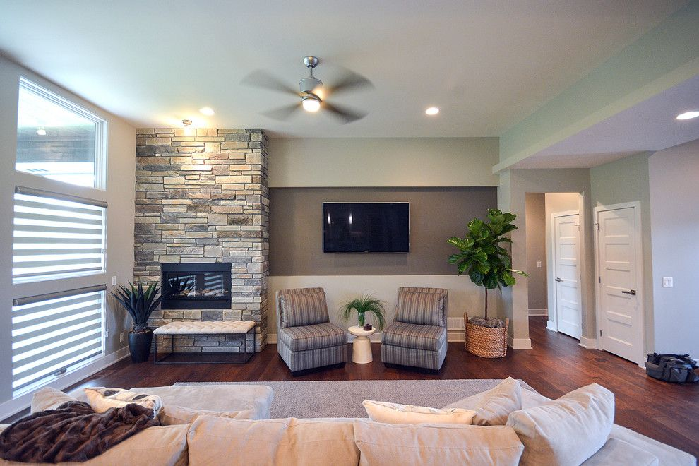 Nebraska Furniture Mart Omaha Nebraska for a Contemporary Living Room with a Contemporary and Harrison St. Residence by Artistico