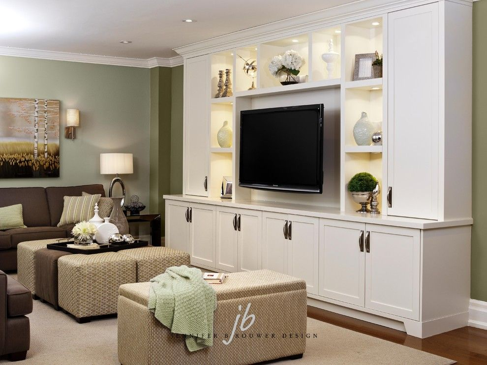 Needham Garden Center for a Contemporary Living Room with a Wall Lights and Jennifer Brouwer Design In. by Jennifer Brouwer (Jennifer Brouwer Design Inc)