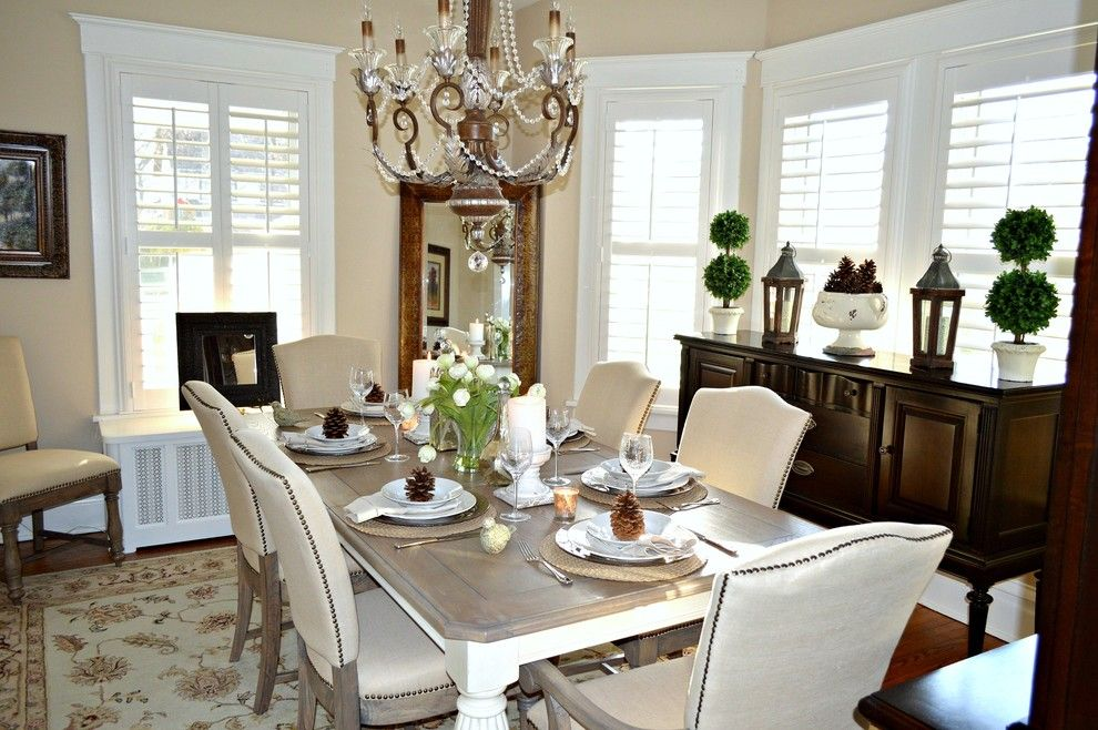 Neiman Marcus Cake for a Traditional Dining Room with a French and Morris County Design Project by Elite Staging and Redesign, Llc