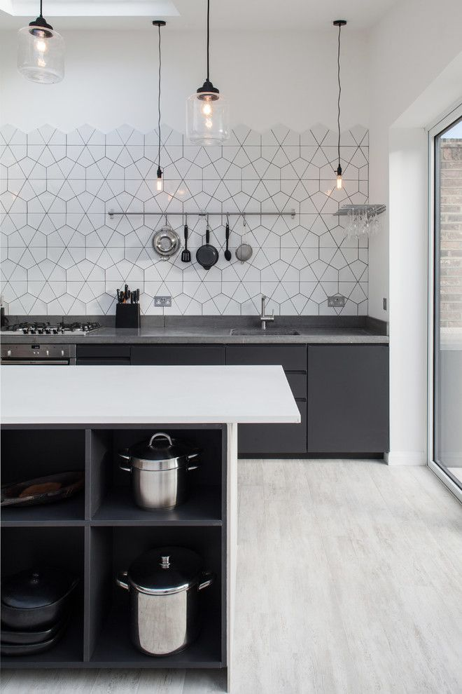 New Orleans La Points of Interest for a Scandinavian Kitchen with a Kitchen Storage and Queensbridge Road by Trevor Brown Architect