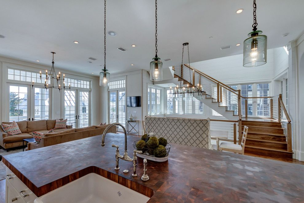 New Paltz Real Estate for a Beach Style Spaces with a Real Estate Photography Destin and 26 New Providence Rosemary Beach, Fl by Emerald Coast Real Estate Photography