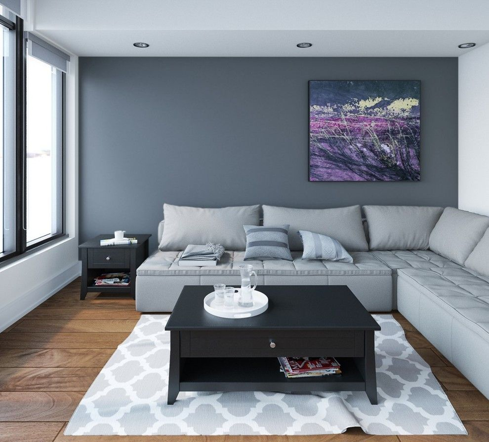Nexera for a Contemporary Living Room with a Contemporary and Tuxedo Entertainment Collection by Nexera