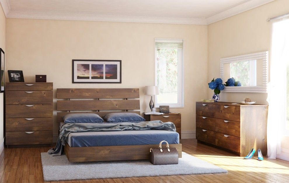 Nexera for a Contemporary Spaces with a Girls Bedroom and Nocce Bedroom Collection by Nexera