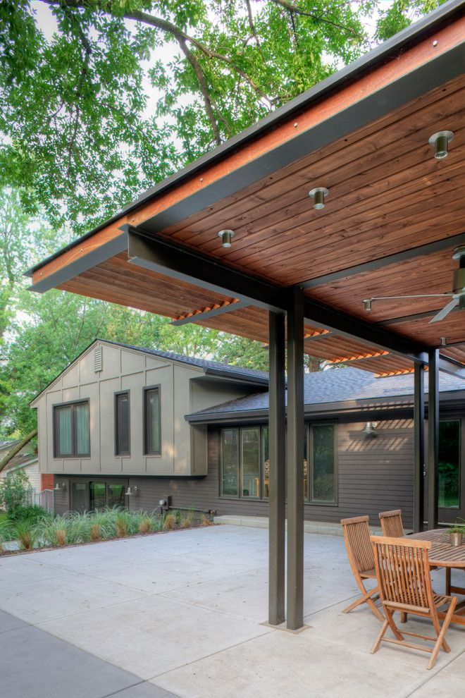 Nicolas De Stael for a Contemporary Patio with a Backyard Patio and Cedar Street Remodel by Steven Ginn Architects Llc