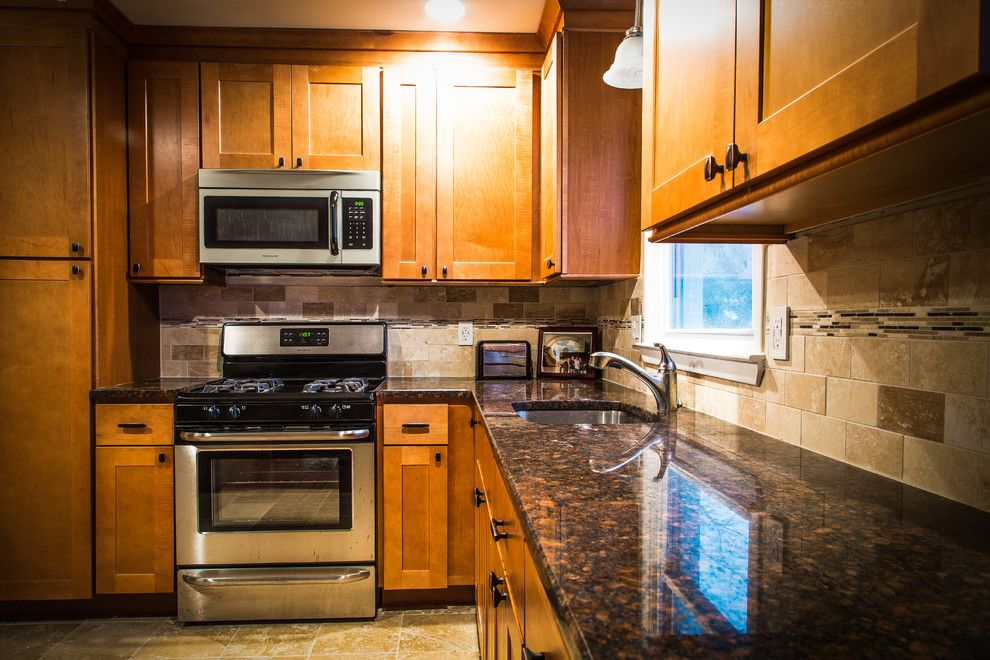 Nj License Restoration for a Contemporary Kitchen with a Kitchen Remodel and Kitchen Remodel in Summit, Nj by Netherwood Remodeling and Restoration Llc