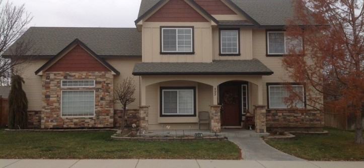 Norco Boise for a Traditional Exterior with a Beige Exterior and Exterior Remodel by Treasure Valley Exteriors