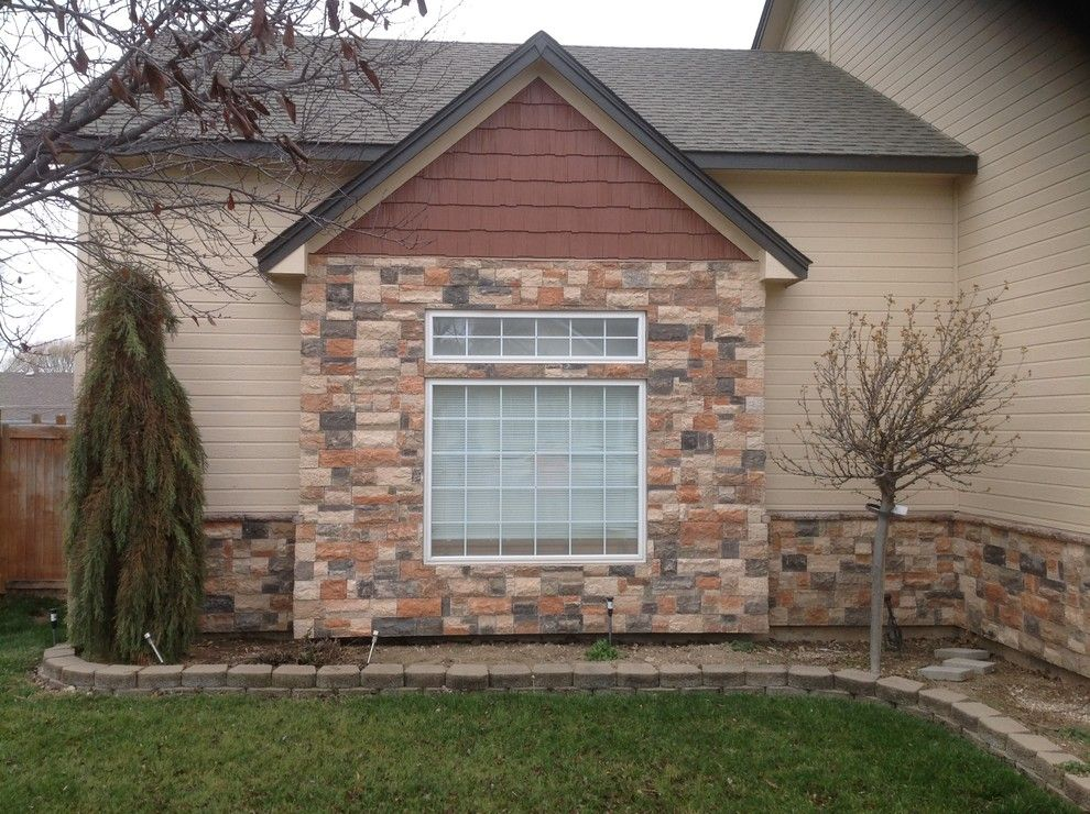 Norco Boise for a Traditional Exterior with a Two Story and Exterior Remodel by Treasure Valley Exteriors