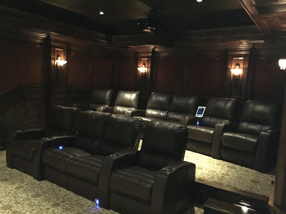 Northstar Movie Theater for a Traditional Home Theater with a Media Cabinet and Rancho Santa Fe Full House, and Underground Theater by A/v Consulting
