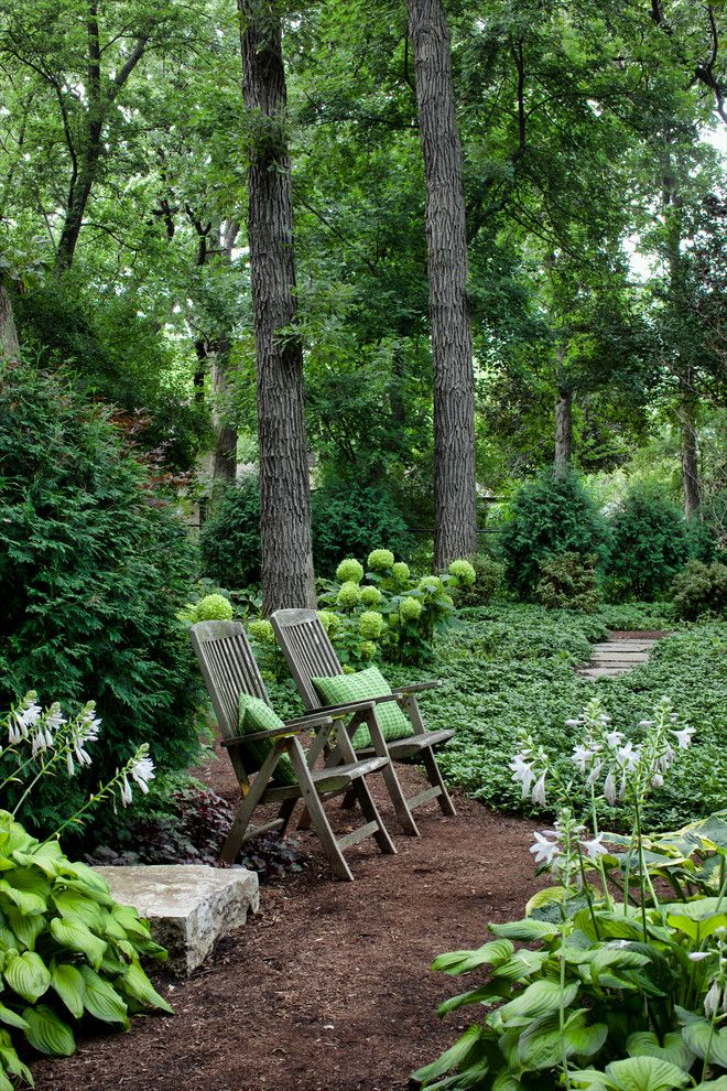 Nwnatural for a Traditional Landscape with a Hosta and Forever Home by Hursthouse Landscape Architects and Contractors