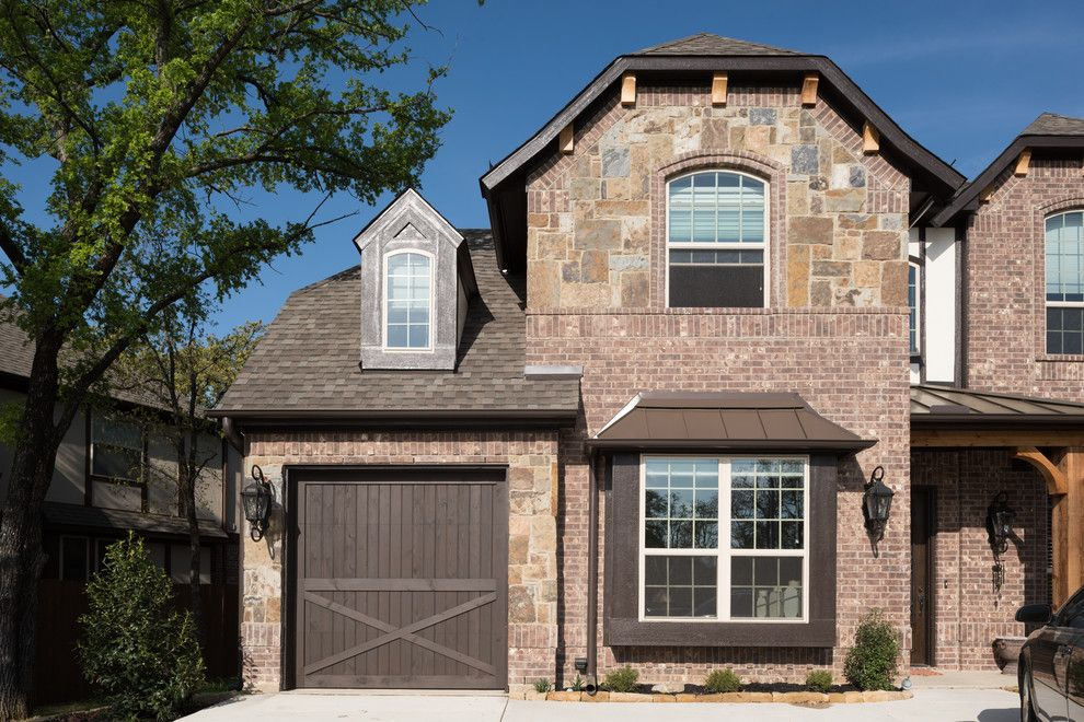 Oaks of Denton for a  Spaces with a Exterior and Bristol Oak by Acme Brick Company