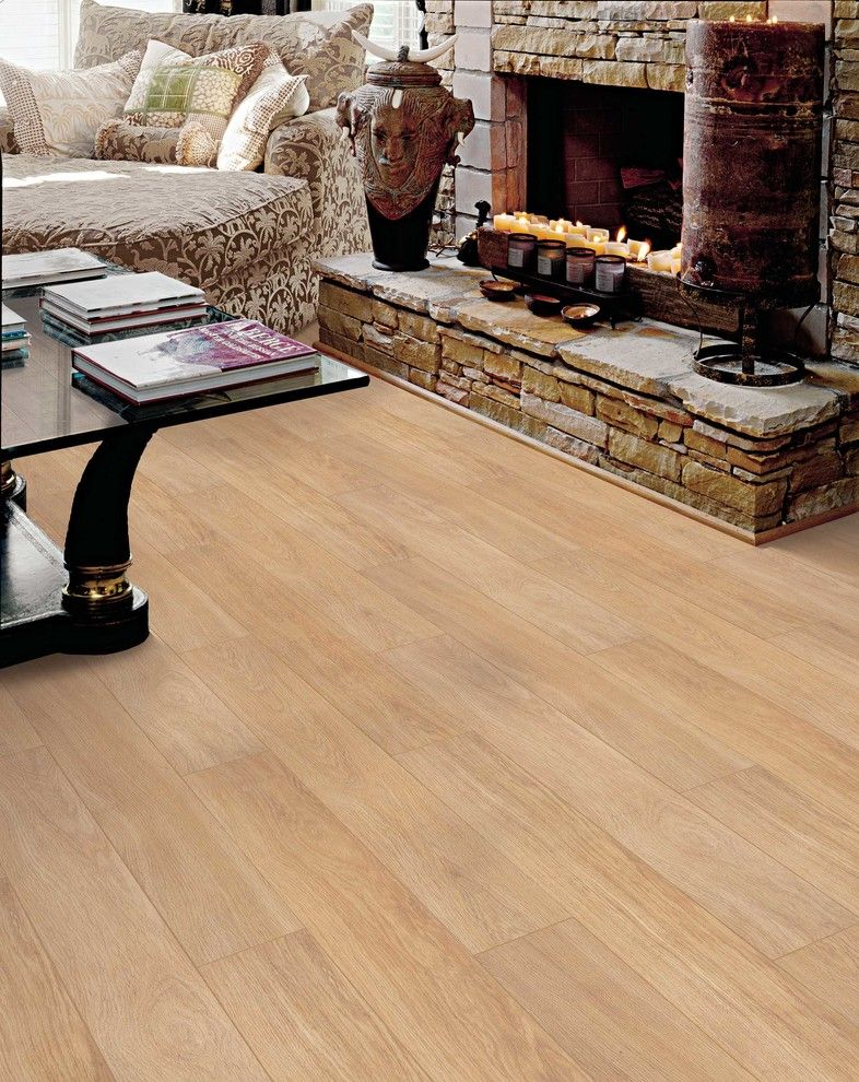 Oaks of Denton for a Transitional Living Room with a Transitional and Living Room by Carpet One Floor & Home