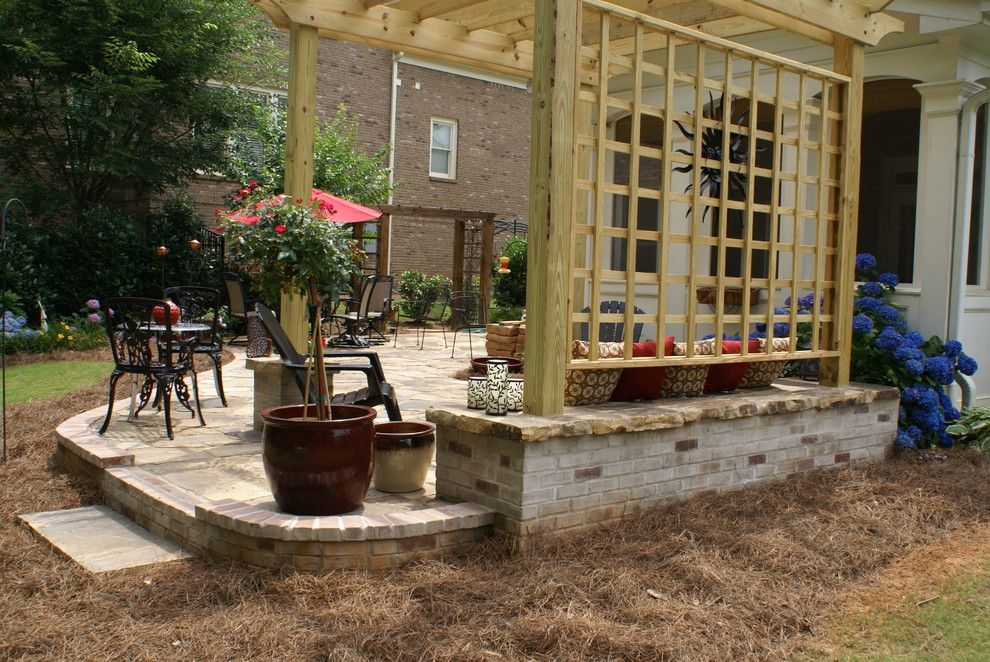 Oasis Spa Atlanta for a Traditional Patio with a Patio and Marietta Country Club by Niche Gardens Landscaping, Inc.