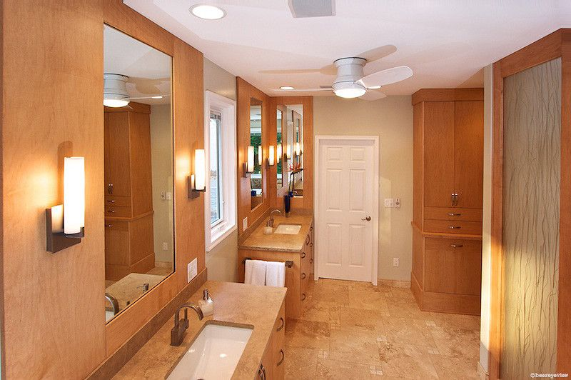 Oasis Spa Atlanta for a Transitional Bathroom with a Modern and Natural Oasis Master Bath by Designs by Bsb