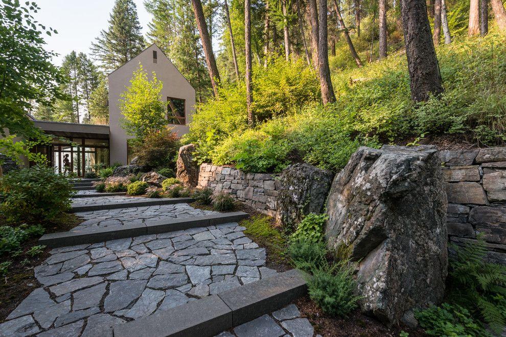 Oblivion Tom Cruise for a Contemporary Landscape with a Ferns and Contemporary Landscape by Envidesign.com